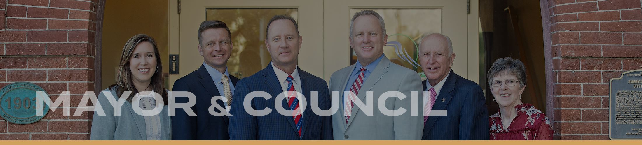 Website Banners 2020 - Mayor Council