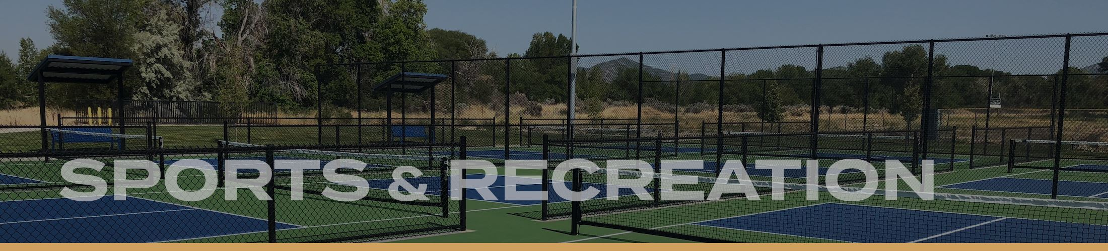 Website Banners 2020 - Sports Recreation